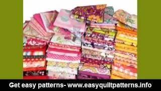 basic patchwork quilting random scrap quilt
