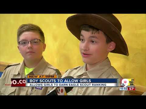 Boy Scouts: 'The more the merrier'