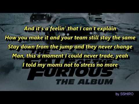 G-Eazy, Kehlani - Good Life (Lyrics) from the Fast and Furious 8 Soundtrack