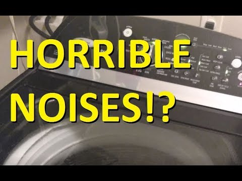 Video Clip Hay Ge Washer Makes Loud Noise During Spin
