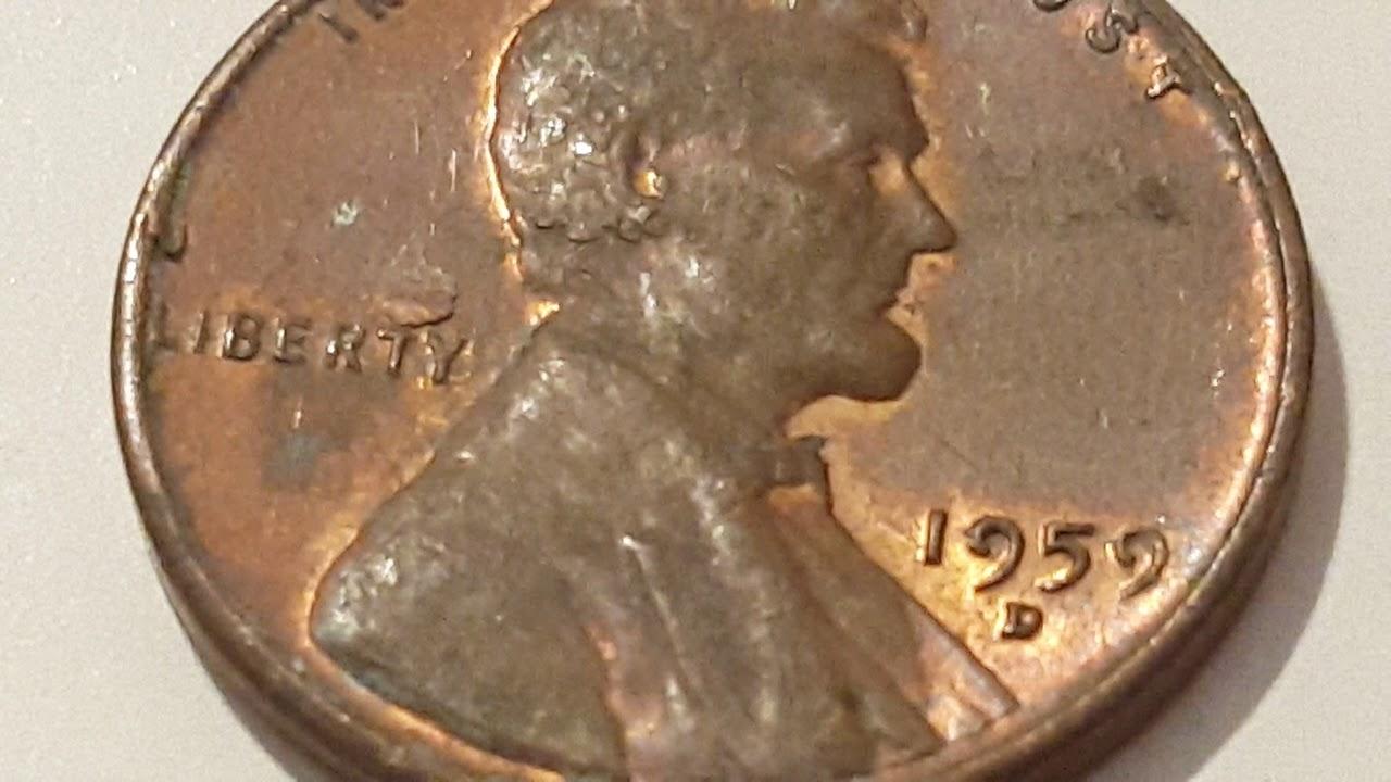 A 1959 D Penny Error