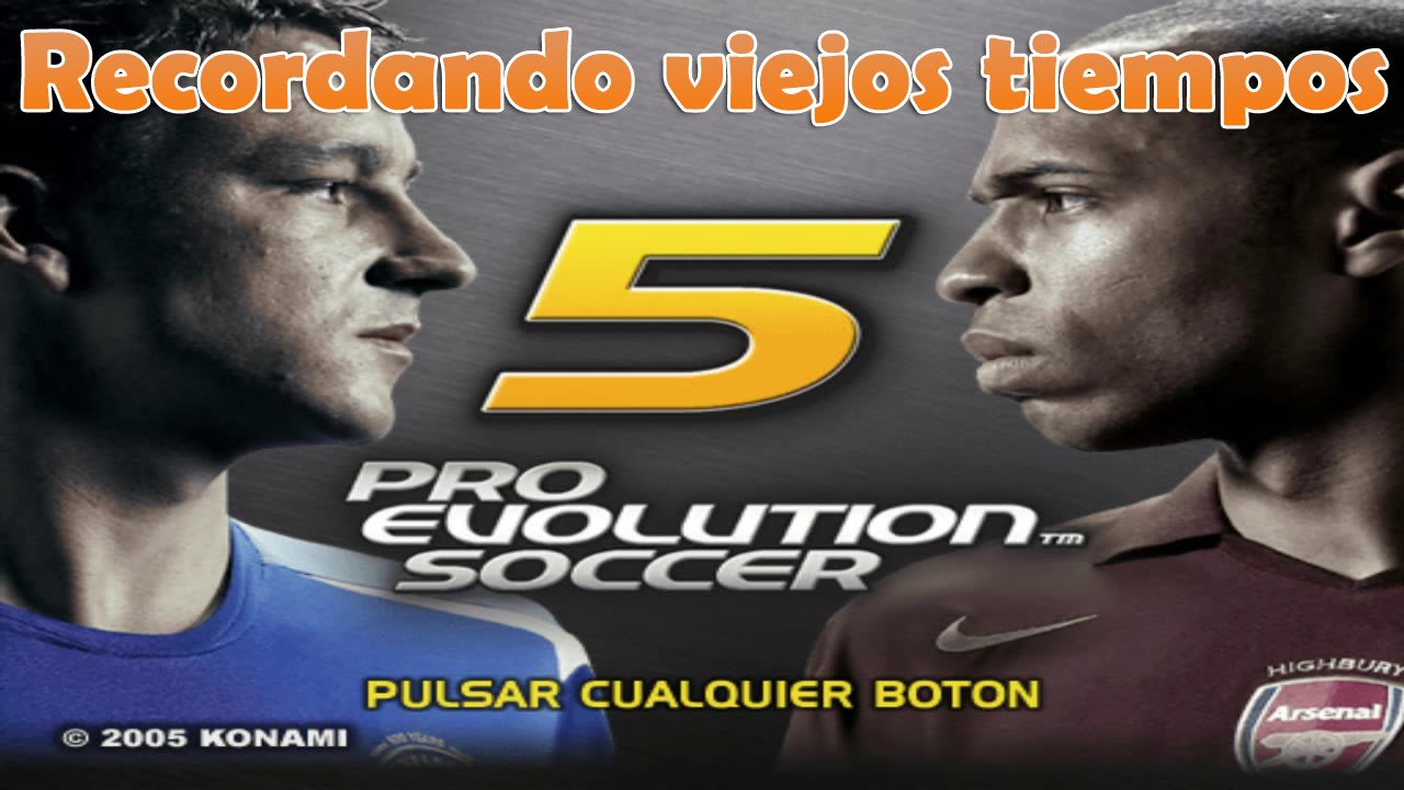 download Pro Evolution Soccer 5