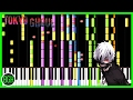 Piano Tokyo Ghoul Unravel