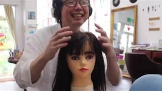 【音フェチロールプレイ】カット、マッサージ、メイク落とし、耳かき【ASMR】Haircut Role Play (Makeup remover Face massage Ear Cleaning)