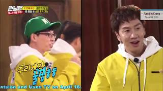 [HOT CLIPS] [RUNNINGMAN] [EP 446] | Chasing So-Min's lover (ENG-IND SUB)