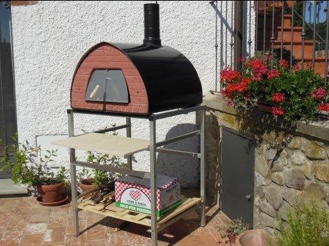 Forni a legna pizza party nuovo sostegno per forni a for Forno per pizza portatile