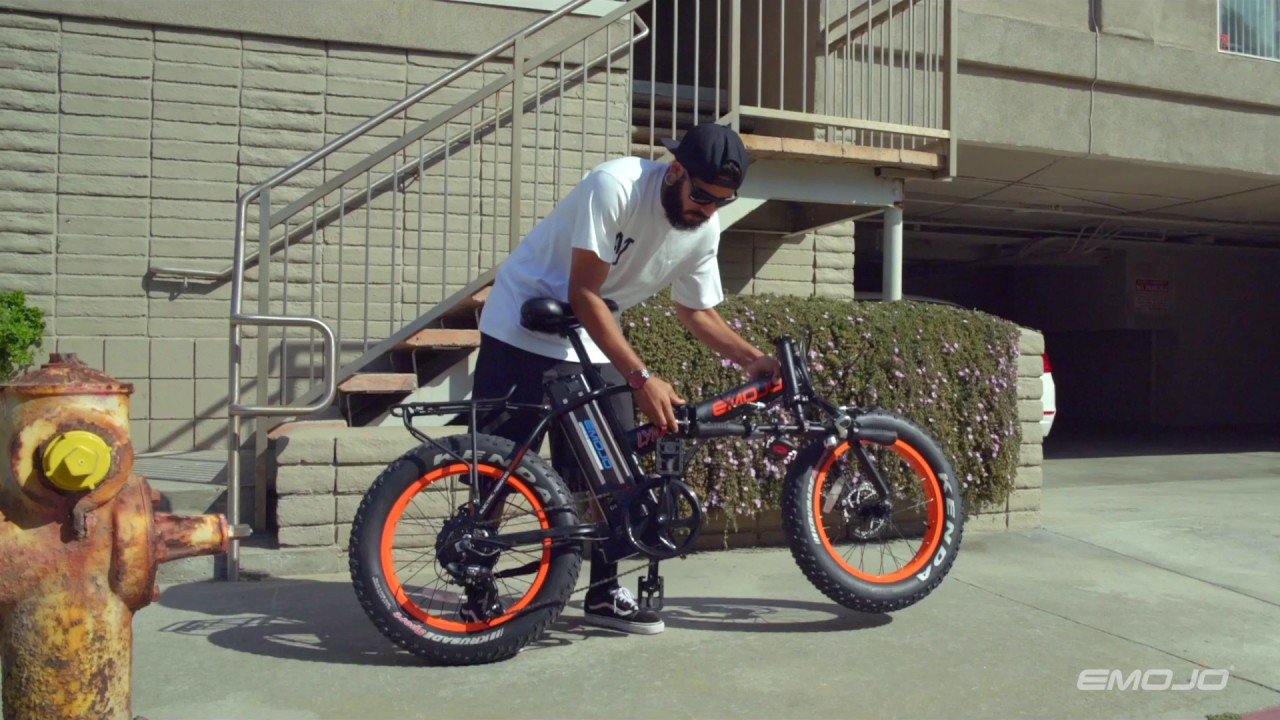 Emojo Electric Bike Youtube