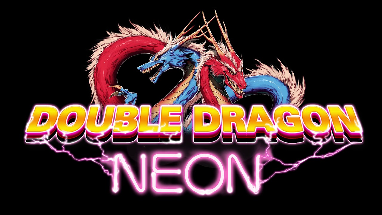 Double Dragon Neon Music Mix - 80's Old School Retro Style Synth Pop & Rock