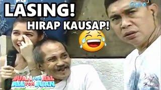 Lasing na  Sugod Bahay Winner - HIRAP KAUSAP!! - Eat Bulaga Throwback | Juan for All - Sugod Bahay