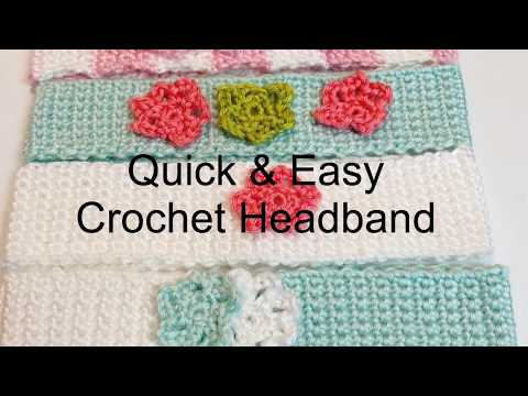 Quick and Easy Headband