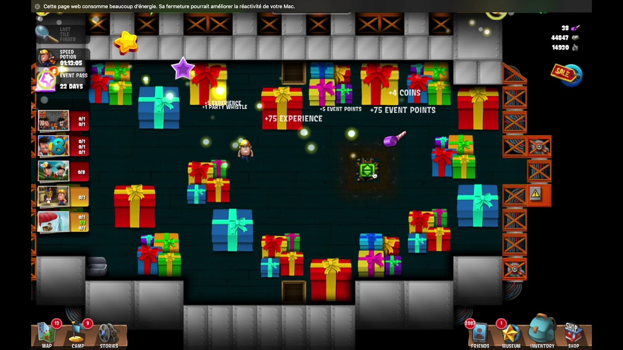 Diggys Adventure Christmas 2020 Challenge 4 Hidden Gifts 8th Birthday~] #7 Gift Factory   Diggy's Adventure   YouTube