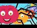 Five Scary Spiders   Nursery Rhyme