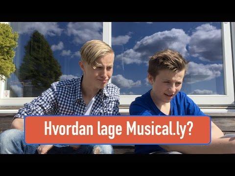 HVORDAN LAGE EN MUSICAL.LY?| Musical.ly turtorial w/ Herman