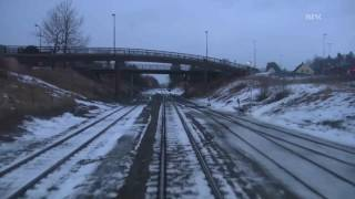 Cabride in Norway - Trondheim to Bodø (4/4 - Winter time) 1080p HD