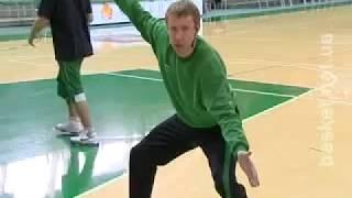 Уроки Баскетбола - Стойка Игрока