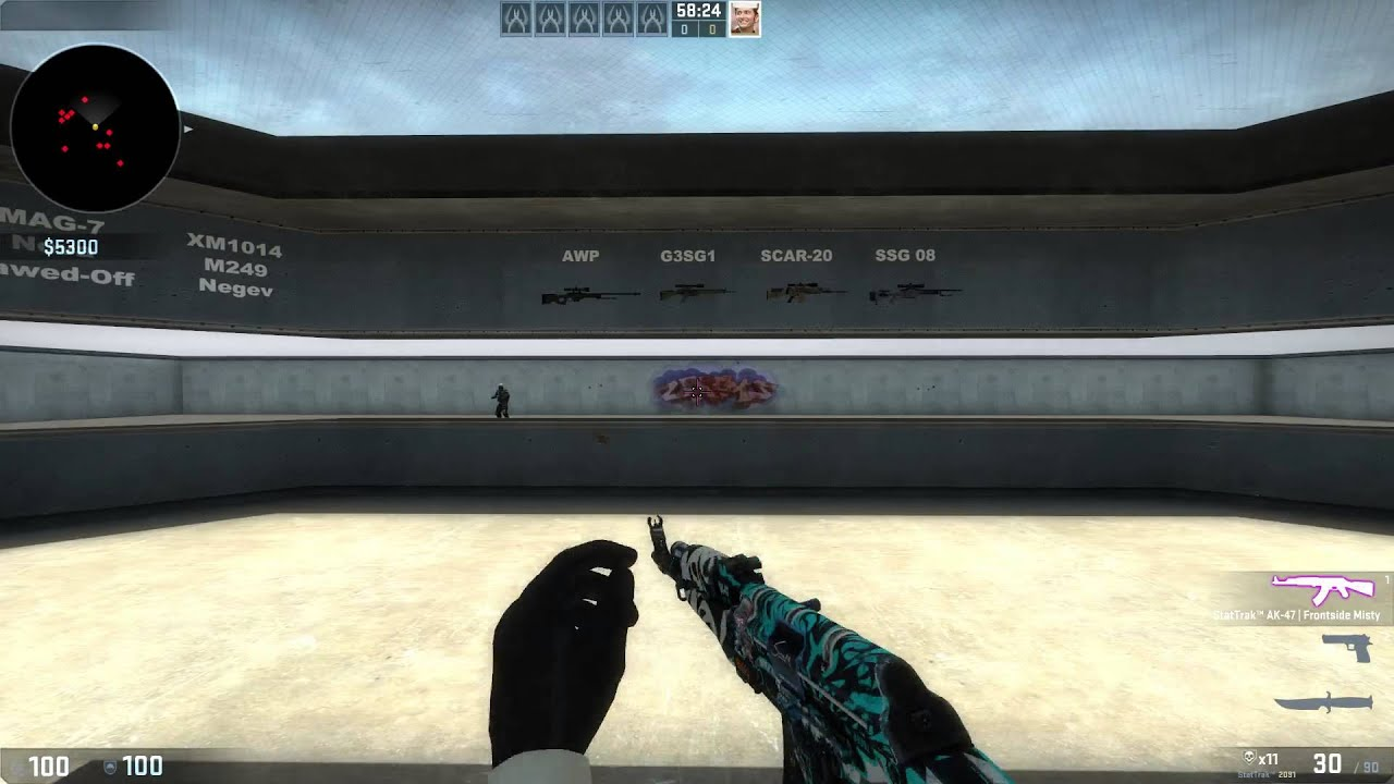 Practise and improve your Aiming like a boss - CSGO App