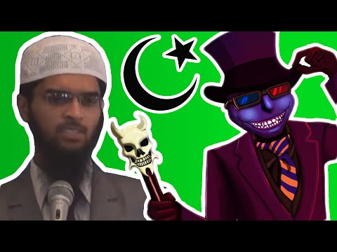 Totally Real Zakir Naik on the Shape of the Earth