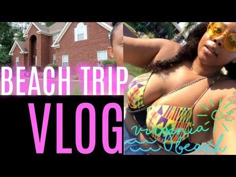 Beach Trip Vlog ♡   CRYSTAL CHANEL   #2