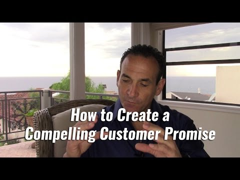 How to Create a Compelling Customer Promise