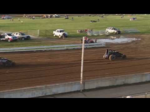 USAC Sprint Car Heat 3 Terre Haute Action Track 5/22/19
