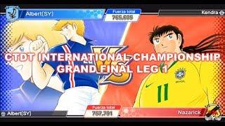 Captain Tsubasa Dream Team International Championship Grand Final Alberto vs Kendra 1st Leg
