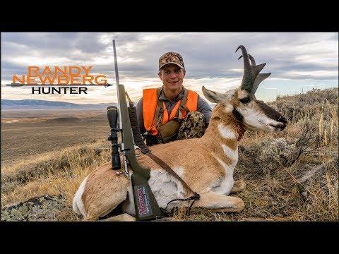 Camera Guy Self-films Solo Montana Antelope Hunt