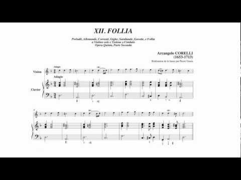 Arcangelo Corelli Sonate Op.5 n°12