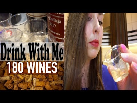 DRINKING 180 DIFFERENT FREE WINES | JAPANESE WINE FESTIVAL