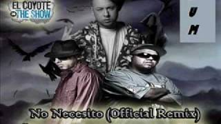 Ñejo y Dalmata ft Cosculluela- No necesito(Official Remix)preview