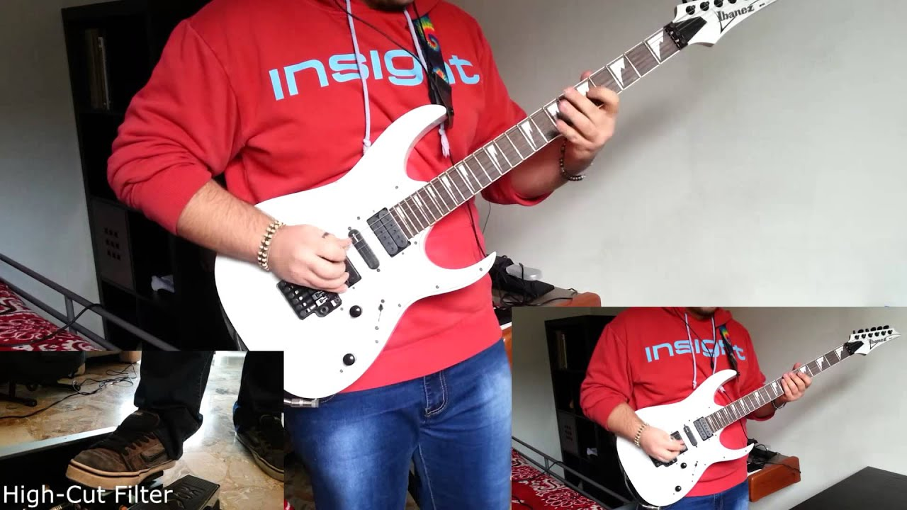 linkin park guilty all the same guitar cover w solo by jualo