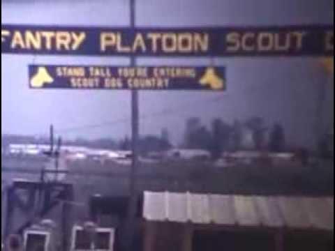 47th Scout Dog Platoon Vietnam 1969 - James Bradshaw (no audio)