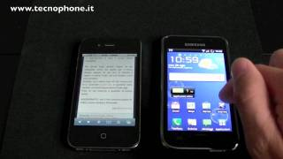 Apple iPhone 4 VS Samsung Galaxy S : Video Confronto (HD)