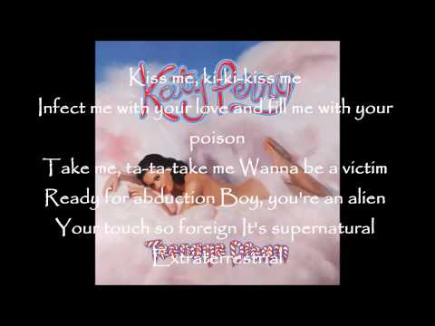 Katy Perry ft Kanye West - E.T. (Clean Version) with lyrics