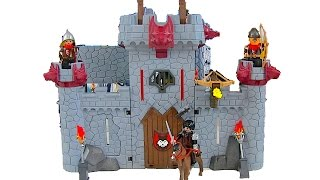 Black Baron's Super 4 Take Along Knights Castle - Playmobil Set 6679 - Unbox & Review