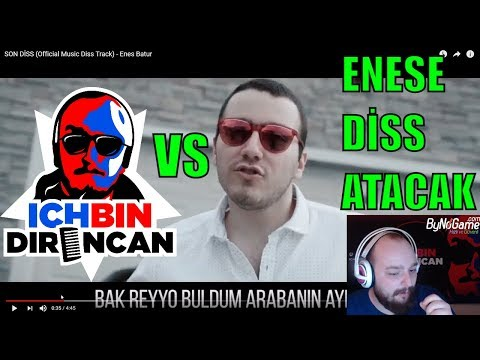 DİRENCAN ENES BATURUN 'SON DİSS' VİDEOSUNU İZLİYOR (Official Music Diss Track)