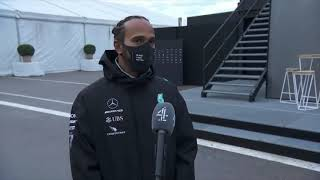 Lewis Hamilton post-race interview on C4F1 at the Turkish GP 2020