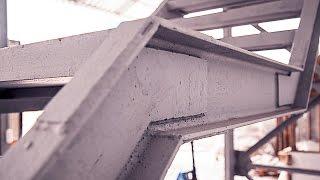 видео Лестницы наружные металлические эвакуационные (пожарные)
