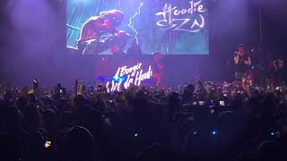 A Boogie Wit Da Hoodie performance @ Brooklyn Steel NYC 2019 Live | A boogie vs Artist Tour