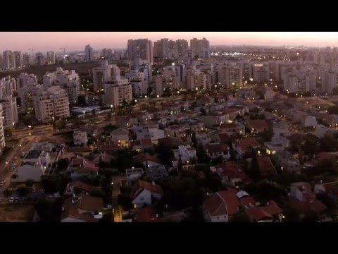DJI Fhantom 3 -Fly over Israel petah tikva