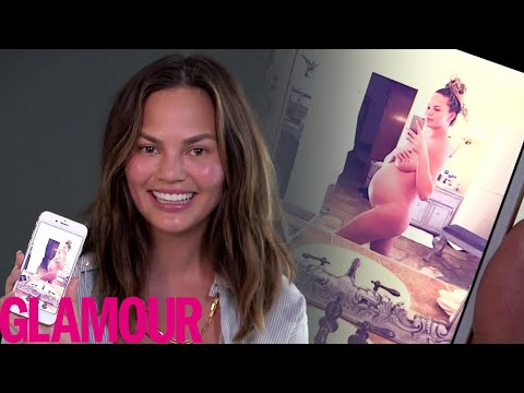 Chrissy Teigen Shows Us The Sexiest Photo On Her Phone | Glamour