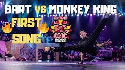 [FIRST SONG] B-Boy Bart vs B-Boy Monkey King | Redbull BC One 2019 World Final Mumbai