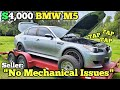 """I bought A Bmw M5 V10 With """"no Mechanical Issues"""" Sight Unseen. It Came With A Loud Engine Noise???"""