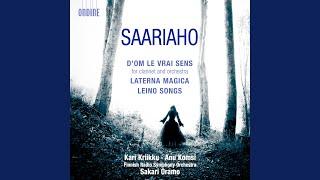 Leino Songs: IV. Iltarukous