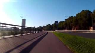Skipping traffic jams in Riga