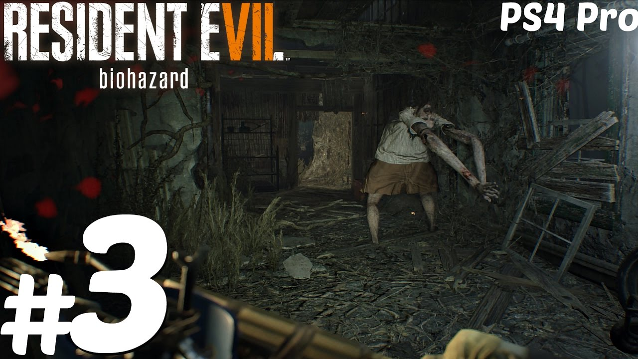 Resident Evil 7 Gameplay Walkthrough Part 3 Lake House Flamethrower Marguerite L Ps4 Pro Youtube