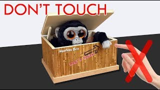 DON'T TOUCH BOX !!! - Useless box with arduino - DIY