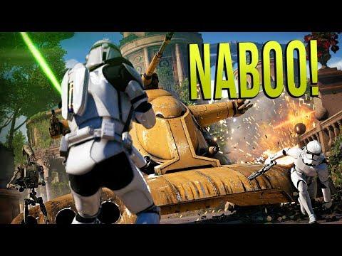 NABOO DEFENSE! - Star Wars Battlefront 2: Galactic Assault!