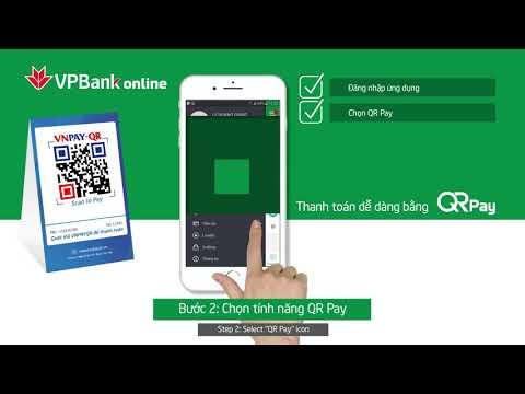 Hướng dẫn thanh toán QR Pay trên ứng dụng VPBank Online | Foci