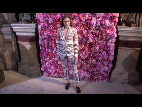 Olivia Palermo, Sai Bennett and more at Schiaparelli Fashion Show in Paris