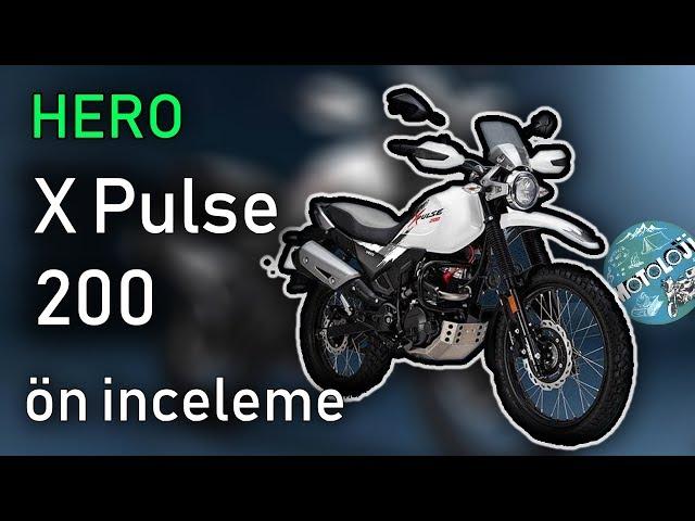 Hero XPulse 200 ön inceleme | 2019 Motosiklet Fuarı